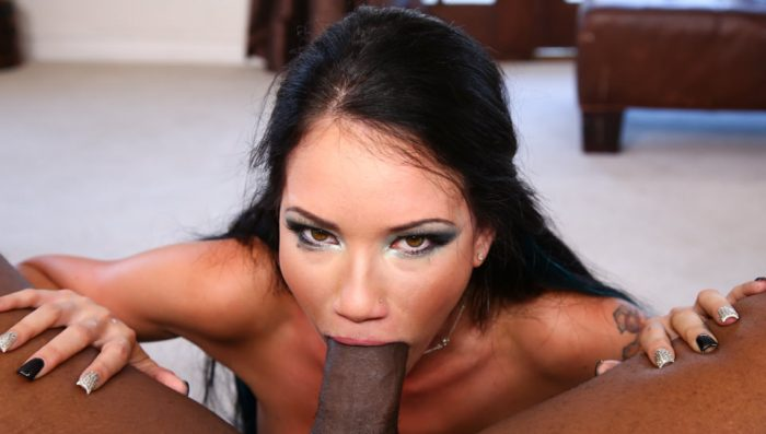 throated Raven Bay Thoated By a BBC, Scene #01