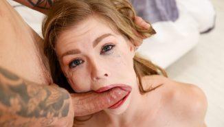tryboobs, throated Ella Nova's Oral Fixation