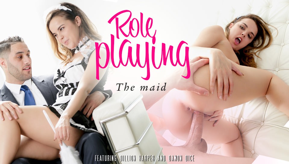 Dillion Harper & Damon Dice Role Playing – The Maid