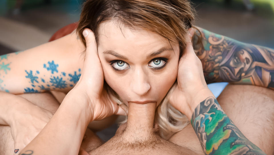 throated, bravotube Down In A Stripper's Throat, Scene #01
