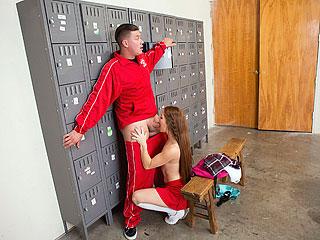 Slutty Squirting Cheerleader