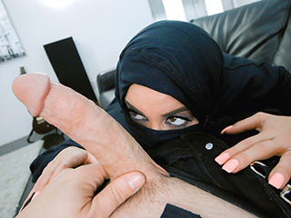 xnxx, pov-life Busty Arabic Teen Violates Her Religion
